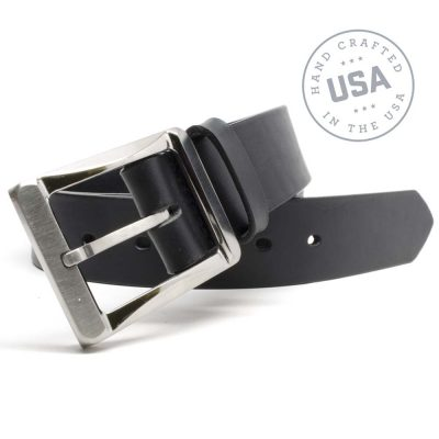 Nickel Smart™ Titanium Work Belt - Black