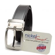 Nickel Smart™  Black Balsam Knob Belt