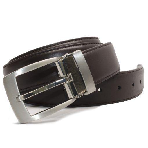 Nickel Smart™ Men's Brown Leather Dress Belt