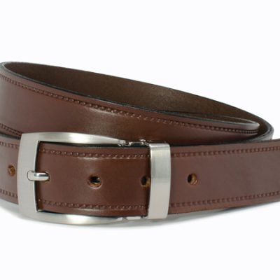 Nickel Smart™  Elk Knob Brown Belt