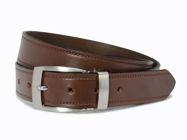 Nickel Smart™  Elk Knob Brown Belt