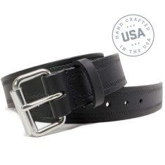 Nickel Smart™ Genuine Leather Nickel Free Belt -Black Rope
