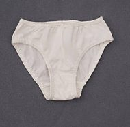 Girl's Panty with Elasticized Latex- Free Inner Elastic on Waist (3 pack) K3300
