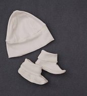 Bonnet & Booties Set (2 pack) I3304